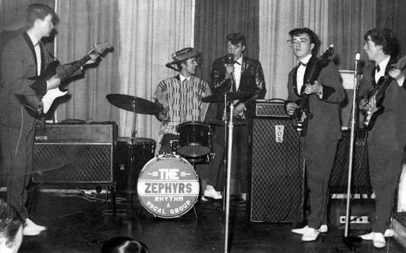 The Zephyrs, 1964