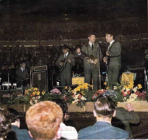 The Beatles, Albert Hall, April 1963