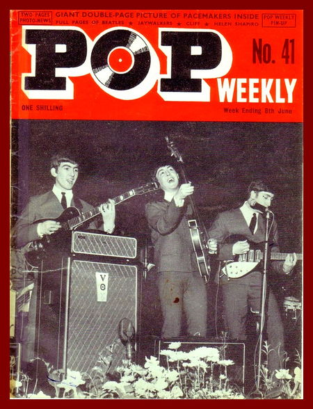 The Beatles, cover of Pop Weekly magazine, no. 41, 1964