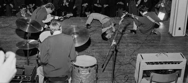 The Beatles, Stockholm, October 1963