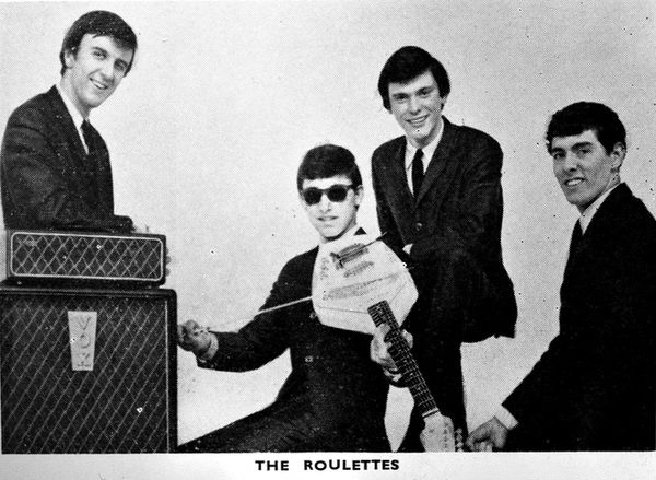 The Roulettes in Beat Monthly magazine, January 1964