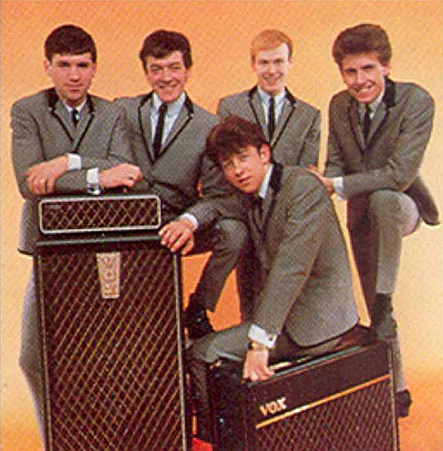 The Hollies, 1963,  promotional picture