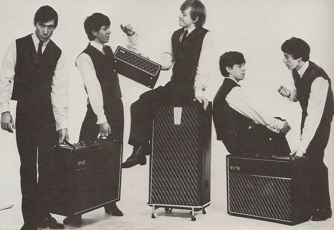 Rolling Stones, Vox T60, promotional picture